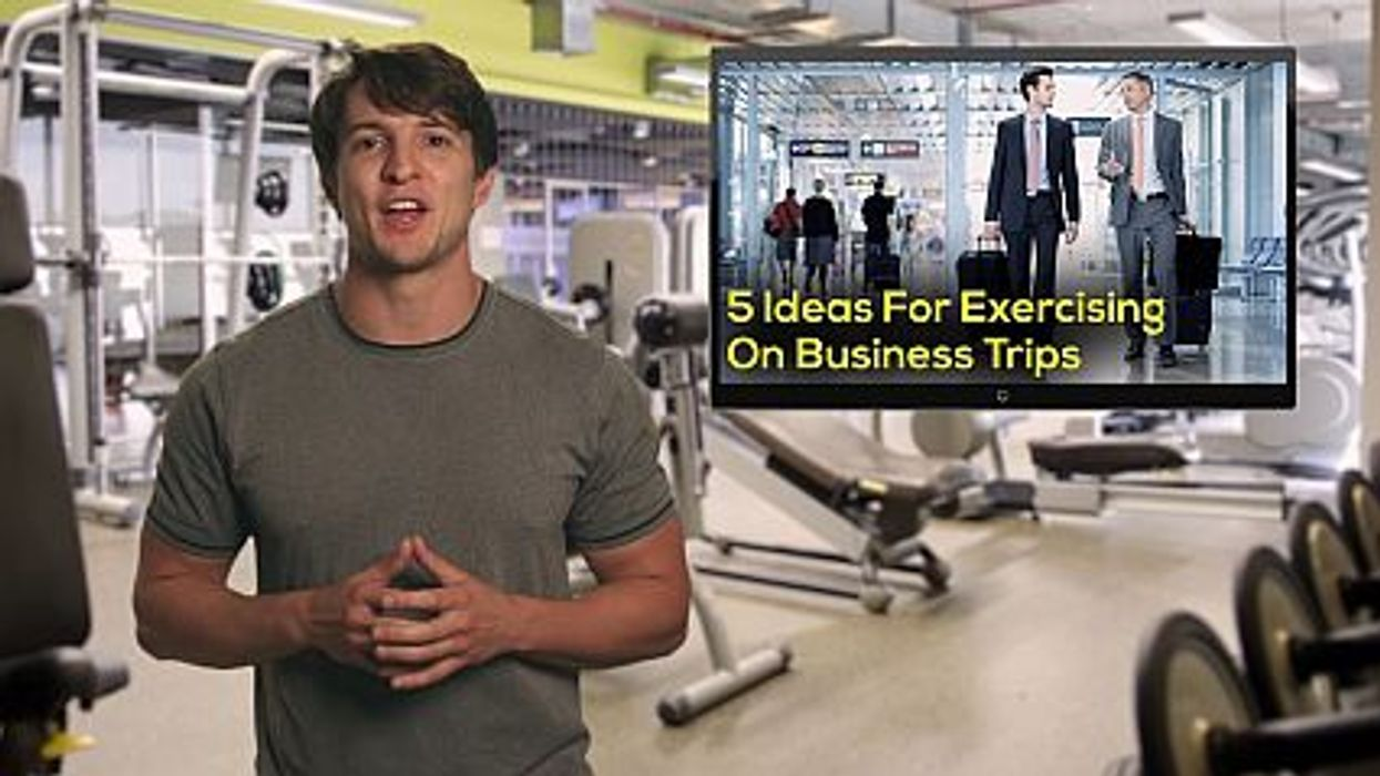 5 Ideas For Exercising On Business Trips
