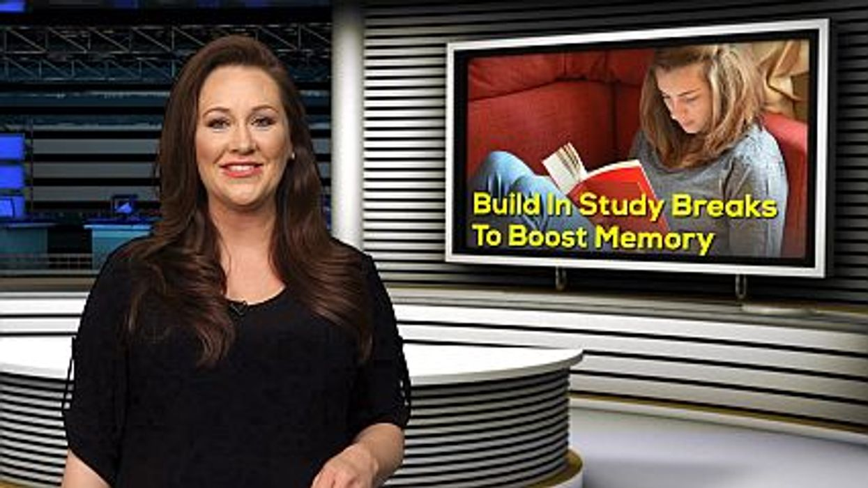 Build In Study Breaks To Boost Memory