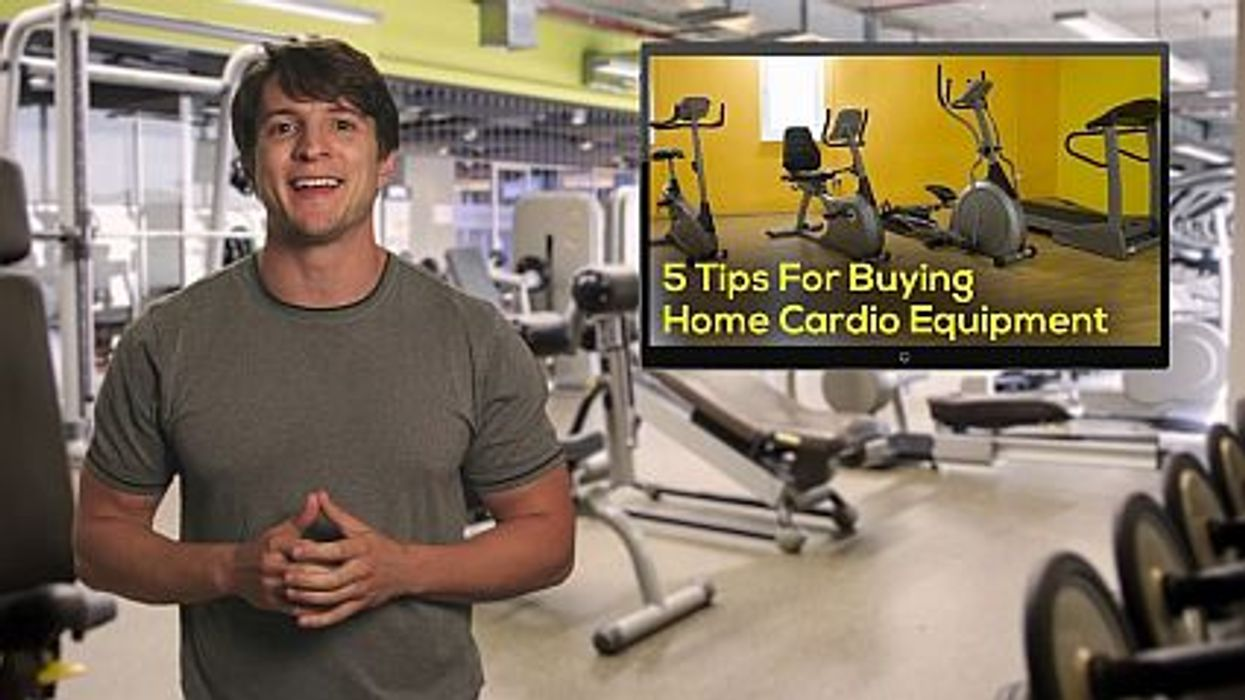 5 Tips For Buying Home Cardio Equipment