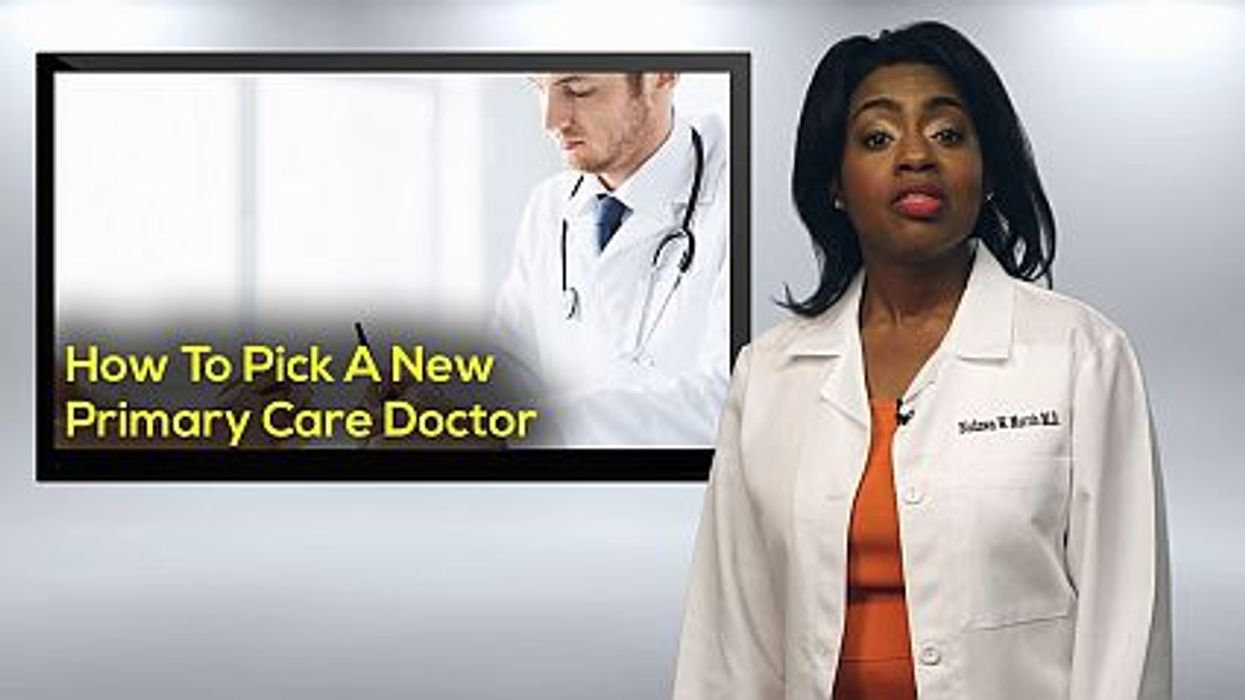How To Pick A New Primary Care Doctor