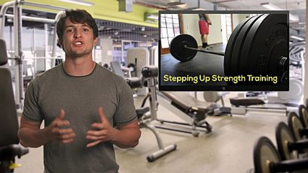 Stepping Up Strength Training