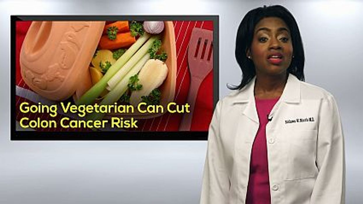 Going Vegetarian To Lower Colon Cancer Risk