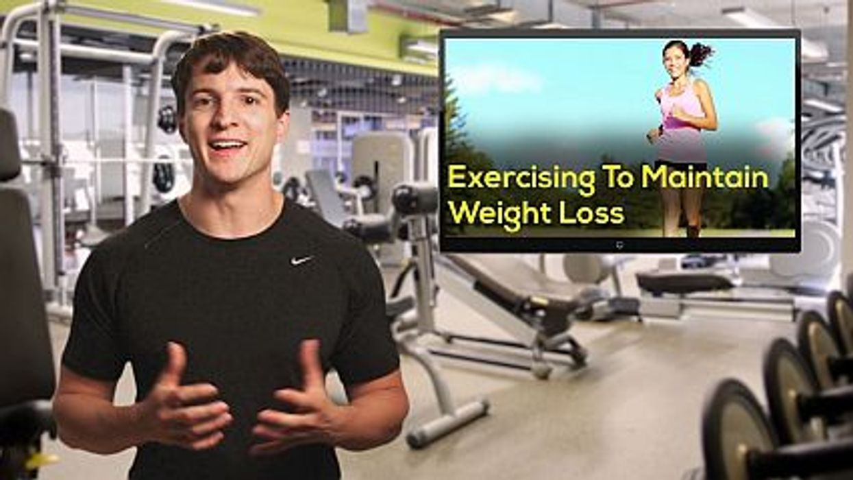 Exercising To Maintain Weight Loss