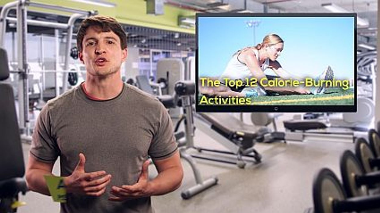 Top 12 Calorie-Burning Activities