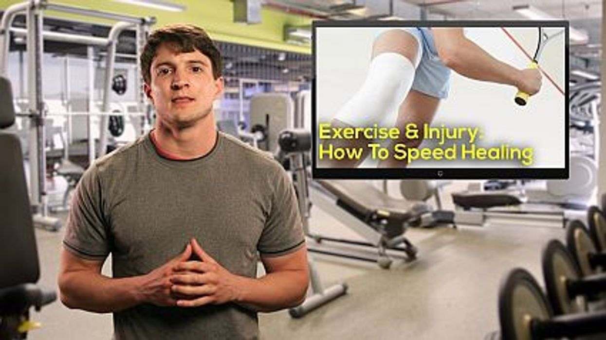 Exercise and Injury: How To Speed Healing
