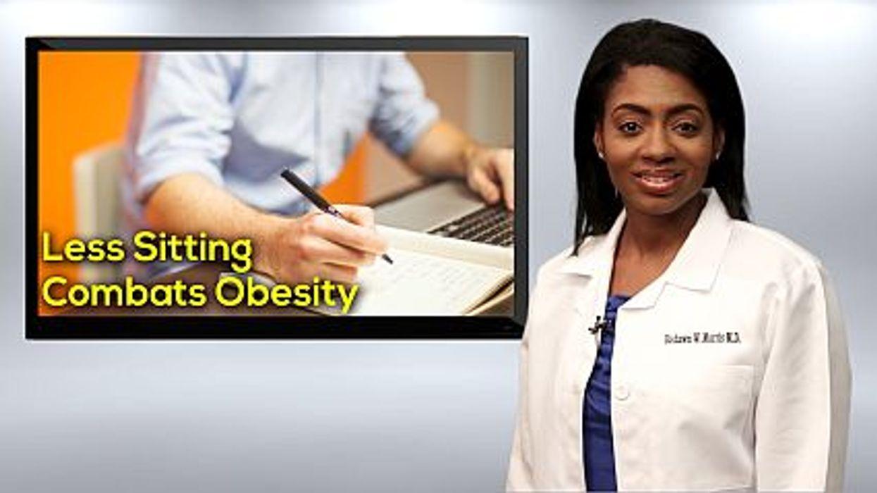 Sit Less To Combat Obesity