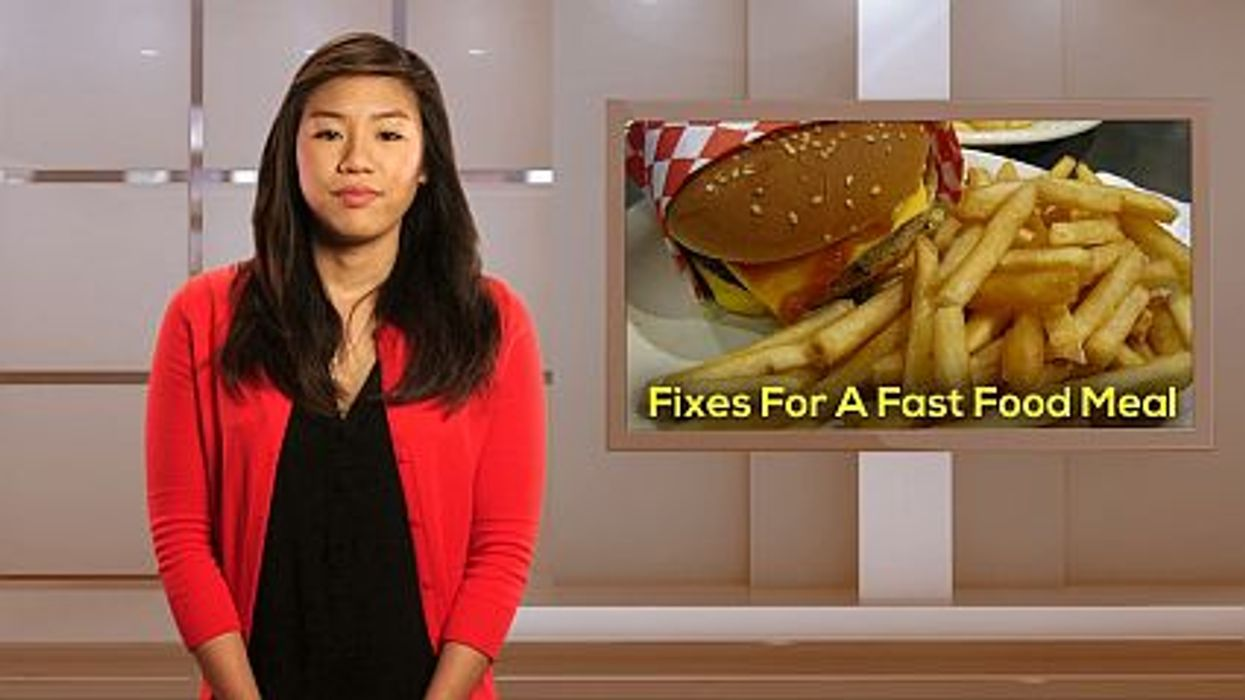 Fixes For a Fast Food Meal