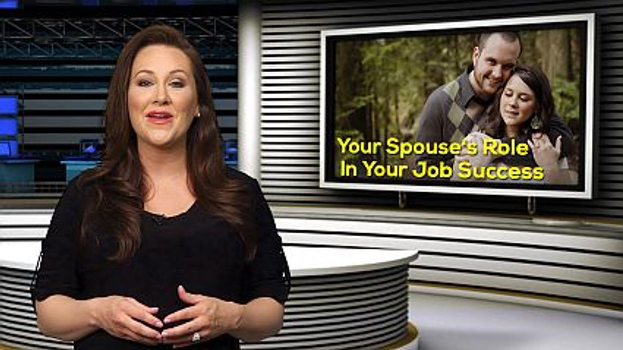 Your Spouse's Role In Your Job Success