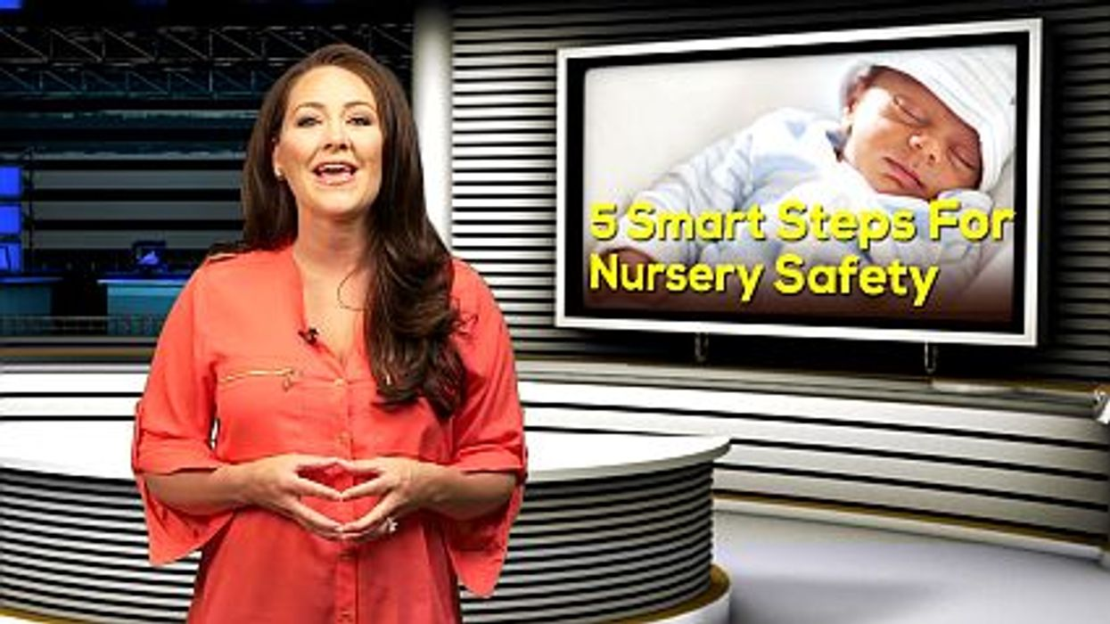 5 Smart Steps For Nursery Safety