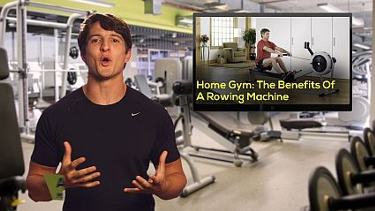 Home Gym: The Benefits Of A Rowing Machine