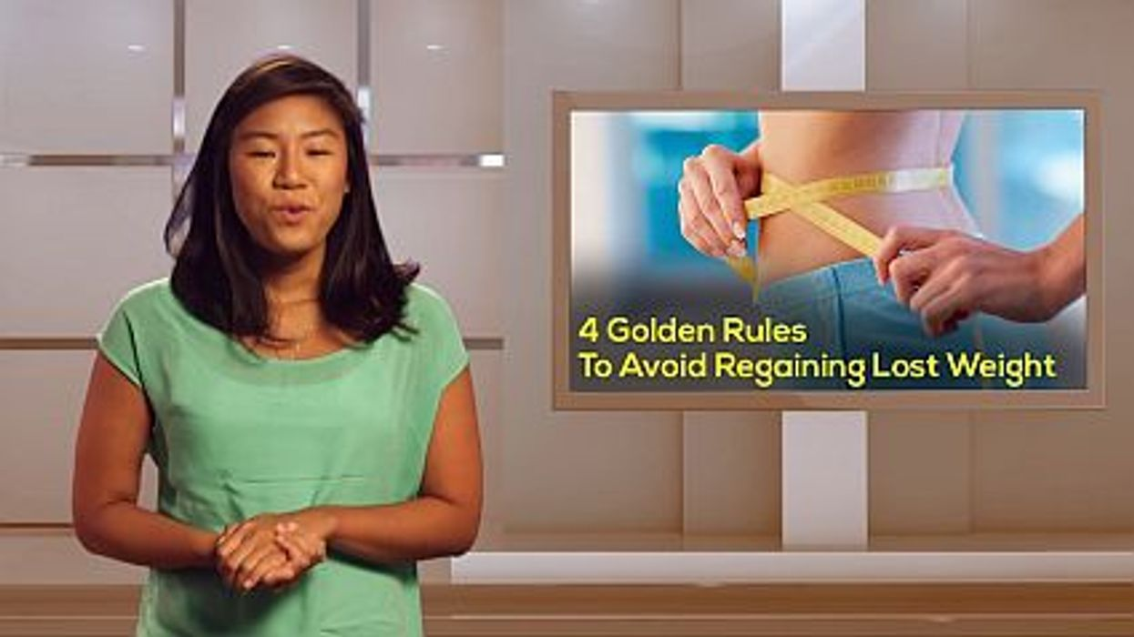4 Golden Rules To Avoid Regaining Lost Weight