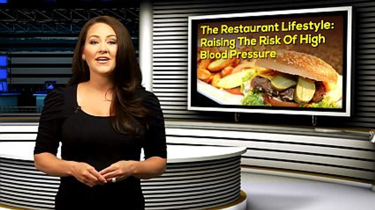 The Restaurant Lifestyle: Raising The Risk Of High Blood Pressure
