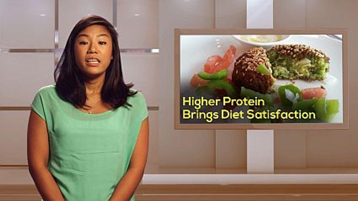 Higher Protein Brings Diet Satisfaction