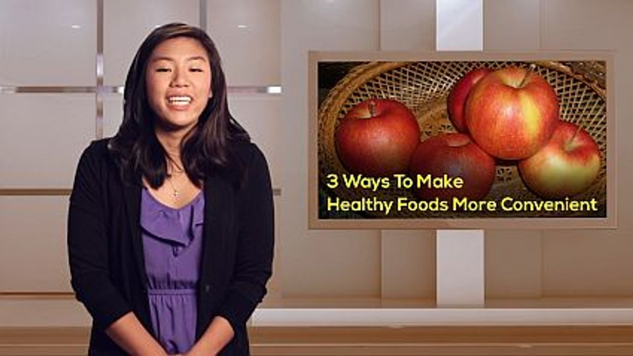 3 Ways To Make Healthy Foods More Convenient
