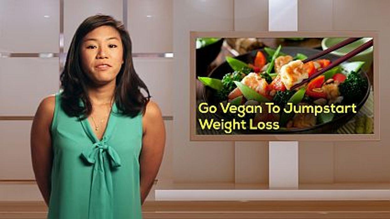 Go Vegan To Jumpstart Weight Loss