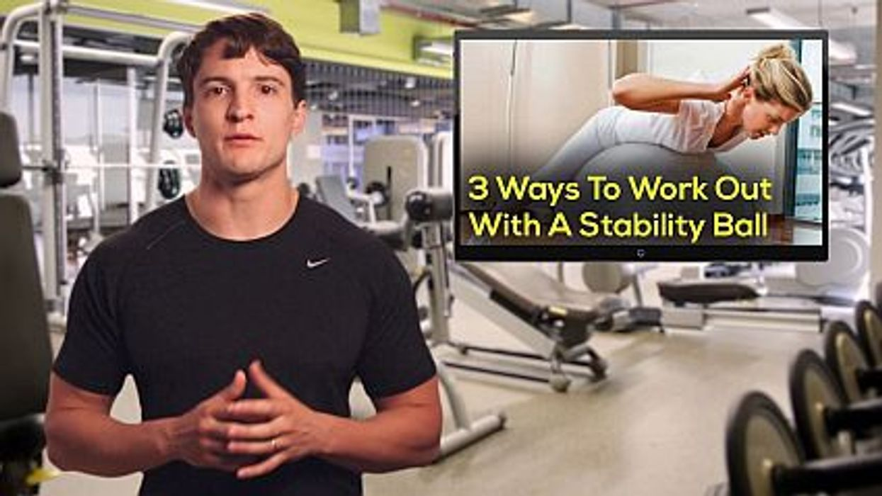 3 Ways To Work Out With A Stability Ball