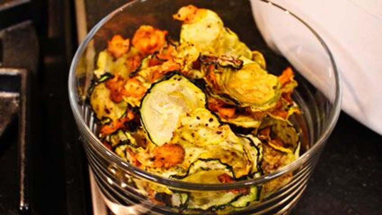 Zucchini And Carrot Chips