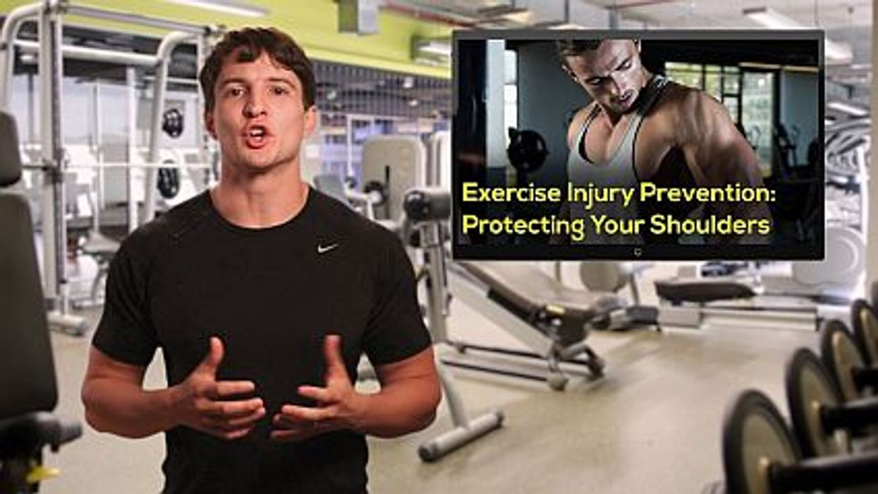 Exercise Injury Prevention: Protecting Your Shoulders