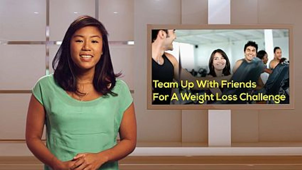 Team Up With Friends For A Weight Loss Challenge
