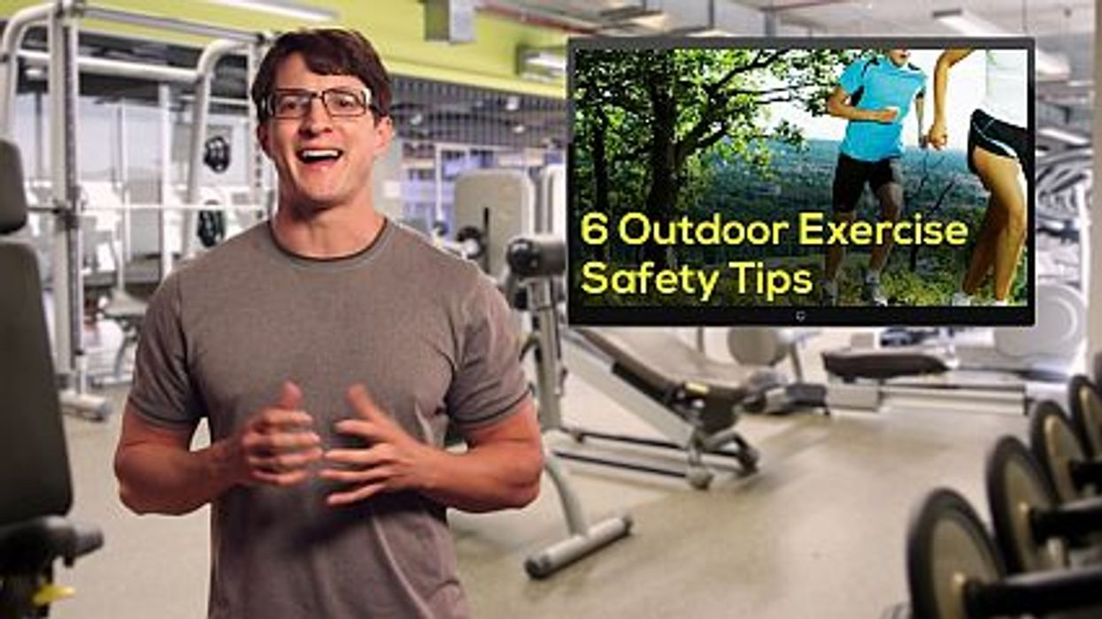 6 Outdoor Exercise Safety Tips