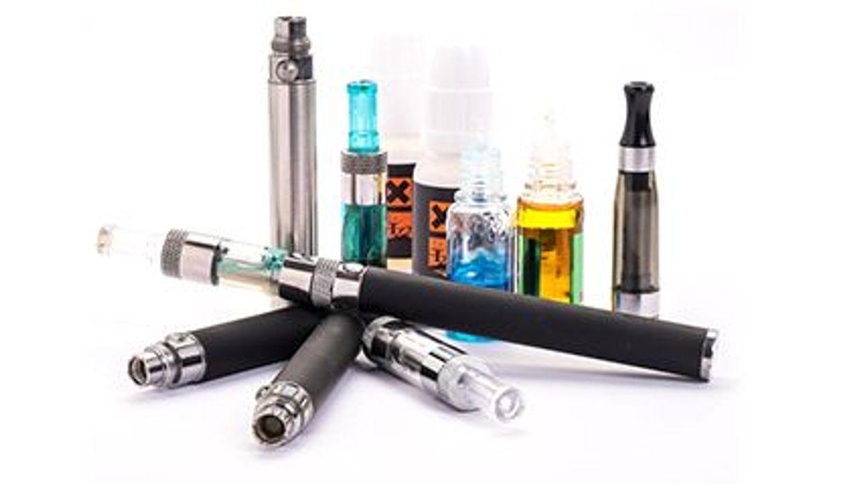 Los niños, los cigarrillos y los cigarrillos electrónicos