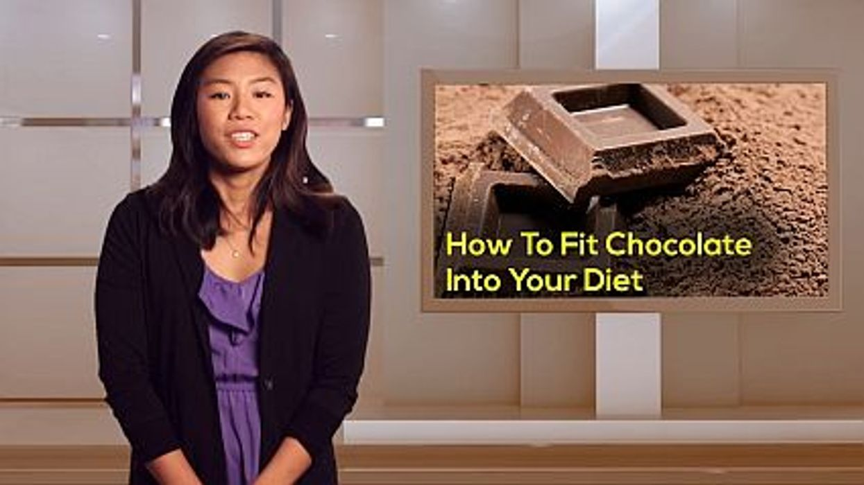 How To Fit Chocolate Into Your Diet