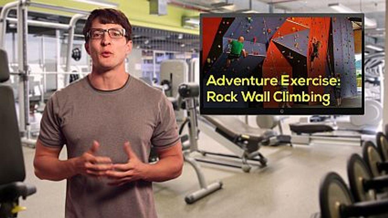 Adventure Exercise: Rock Wall Climbing