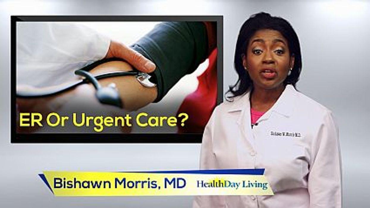 ER Or Urgent Care?