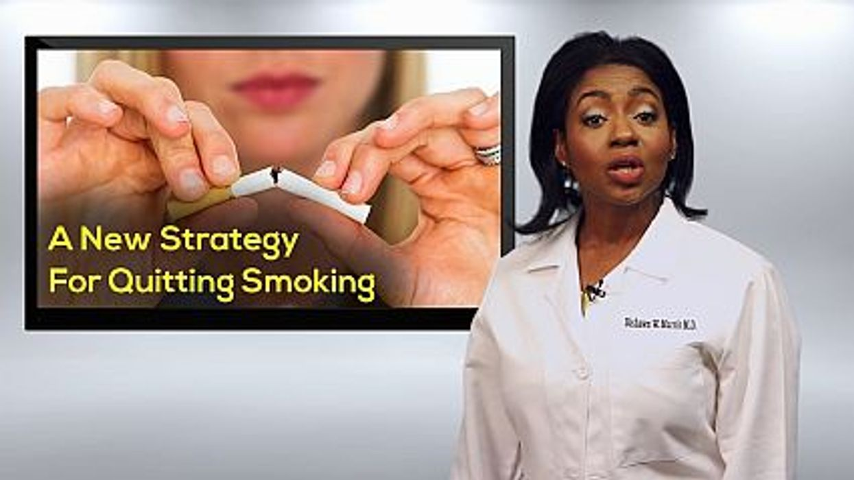 A New Strategy For Quitting Smoking