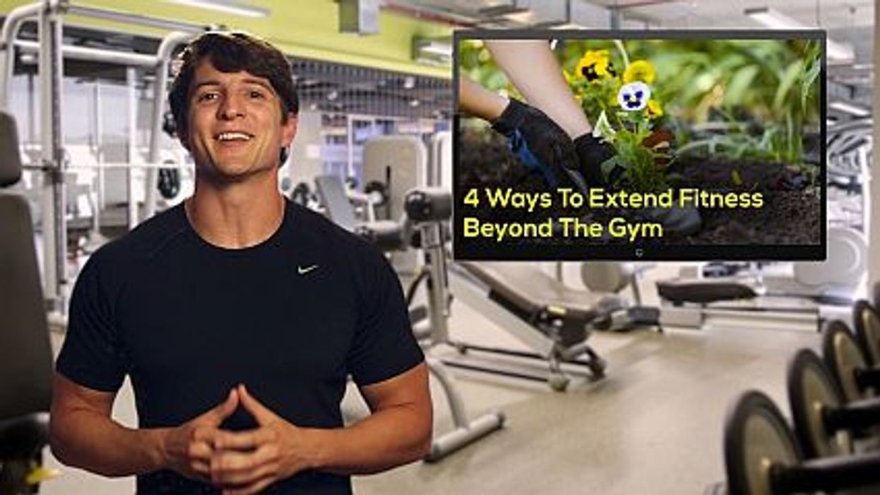 4 Ways To Extend Fitness Beyond The Gym