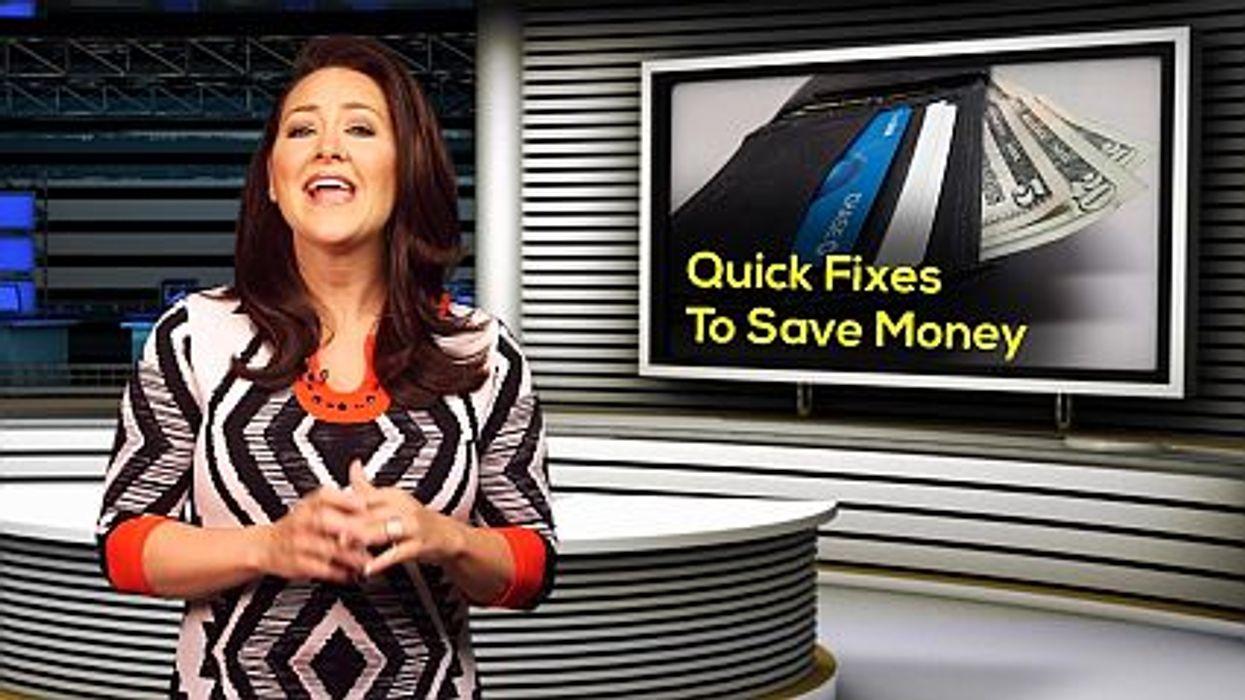 Quick Fixes To Save Money