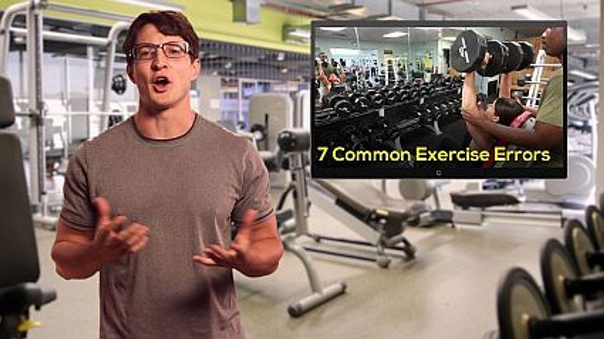 7 Common Exercise Errors