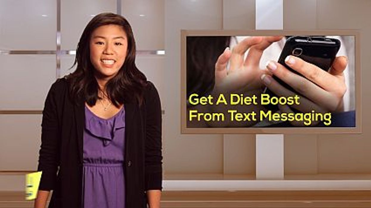 Get A Diet Boost From Text Messaging