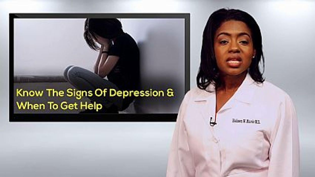 Know The Signs Of Depression