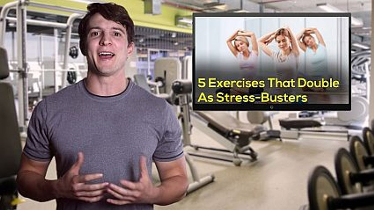 5 Exercises That Double As Stress-Busters