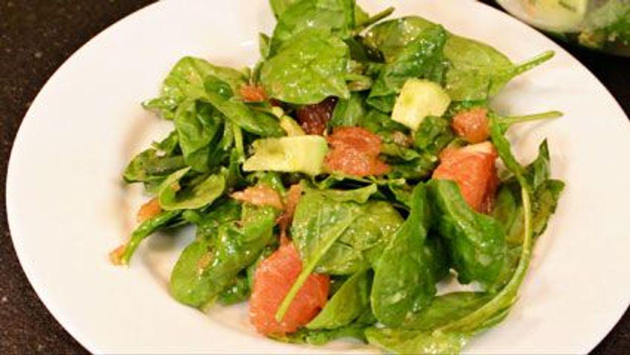 Grapefruit Tarragon Salad