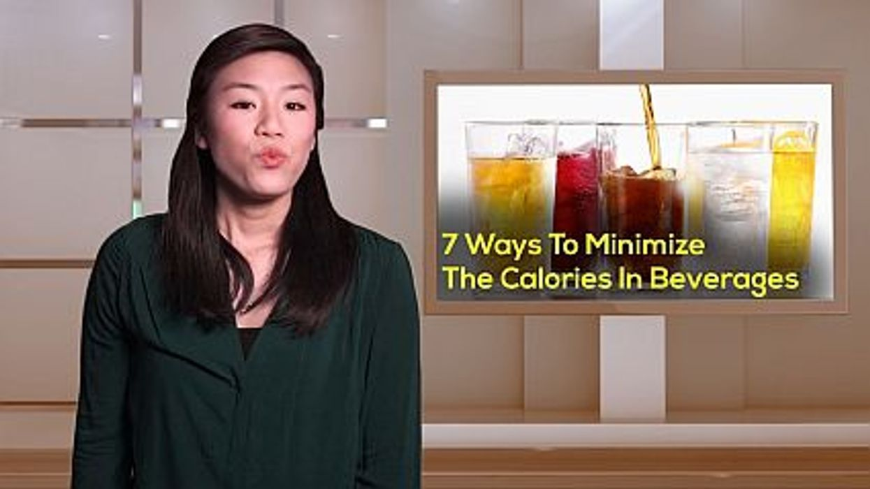 7 Ways To Minimize Calories In Beverages