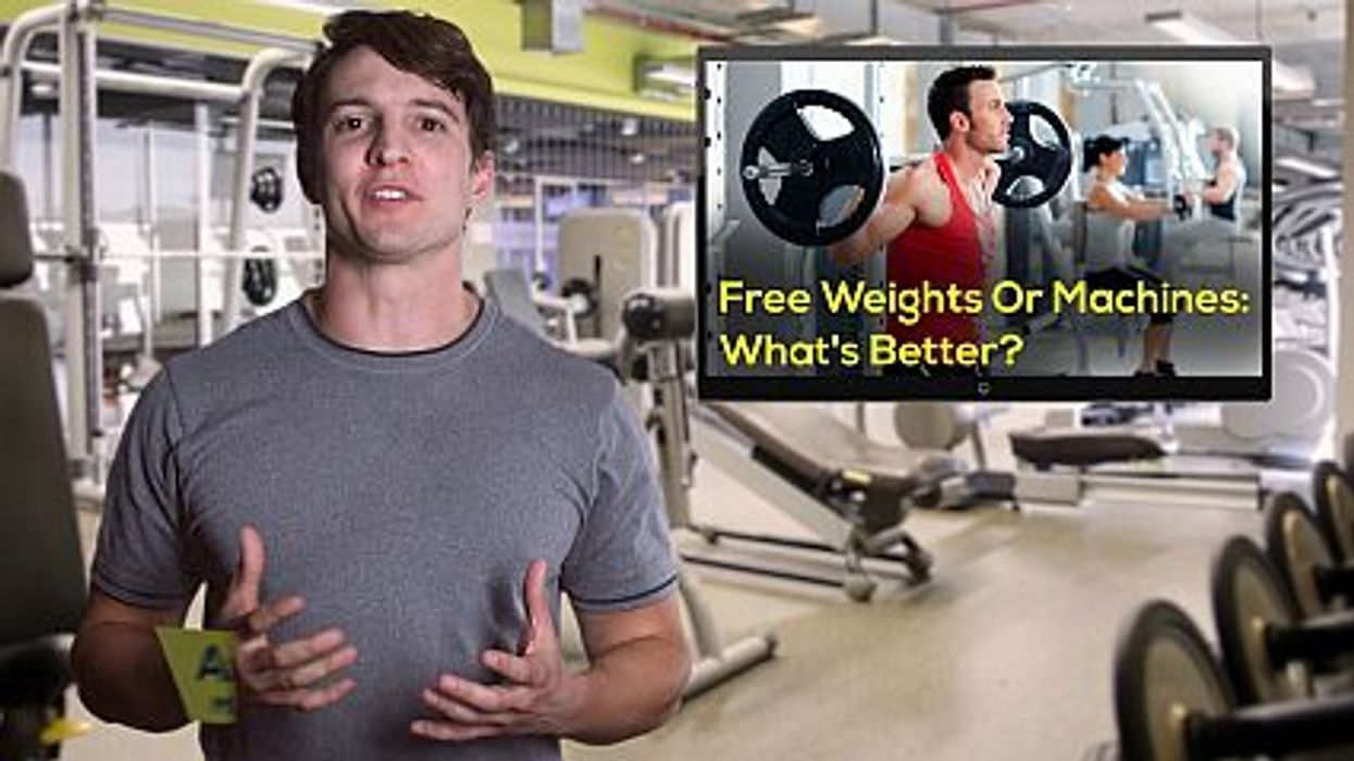 Free Weights Or Machines: What's Better?