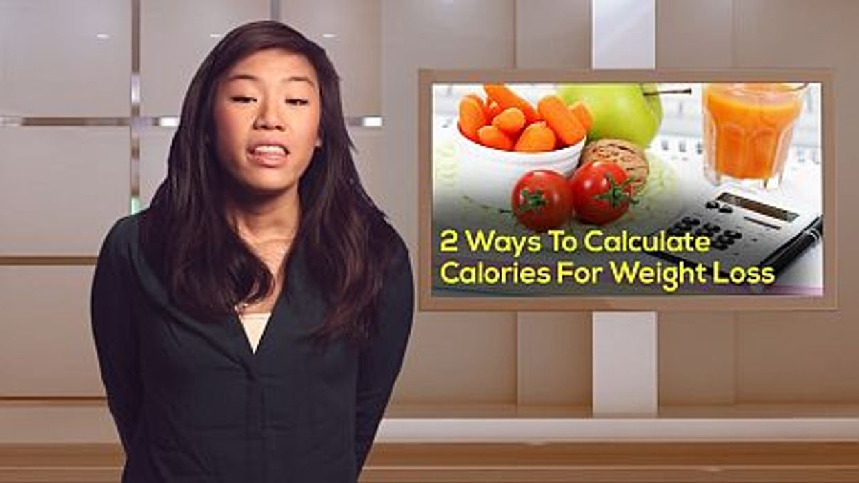 2 Ways To Calculate Calories For Weight Loss