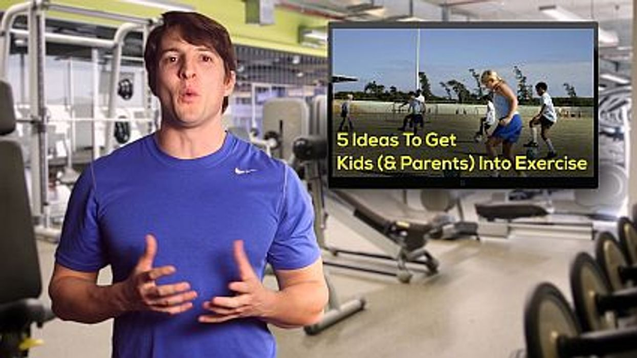 5 Ideas To Get Kids (& Parents) Into Exercise