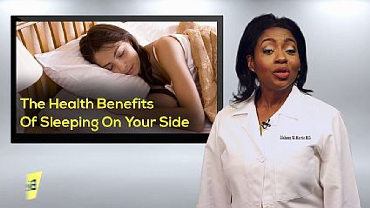 The Health Benefits Of Sleeping On Your Side