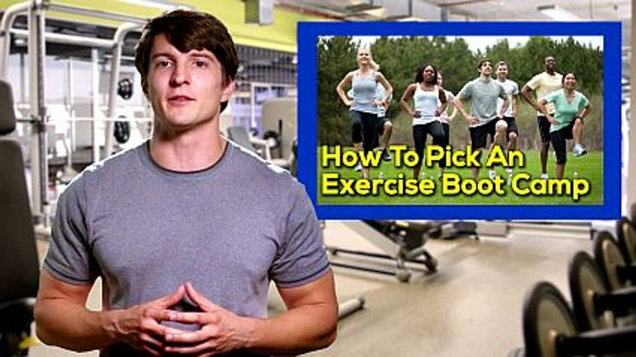 How To Pick An Exercise Boot Camp