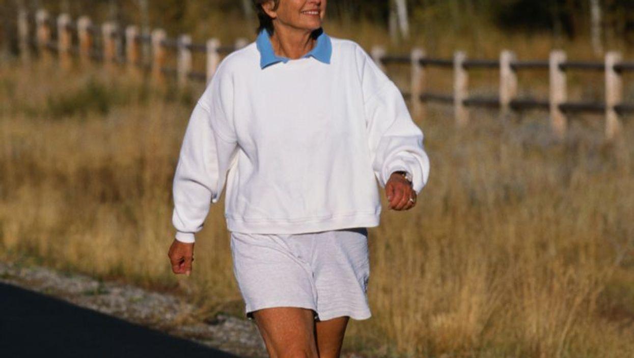 Breaking Up Prolonged Sitting Benefits Postmenopausal Women