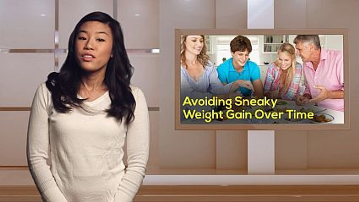 Avoiding Sneaky Weight Gain Over Time
