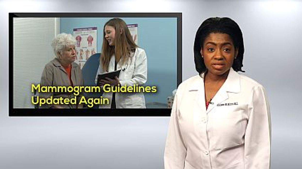 Mammograms Guidelines: Updated Again