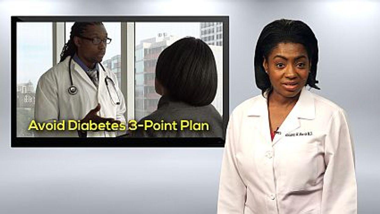A 3-Part Plan To Avoid Diabetes