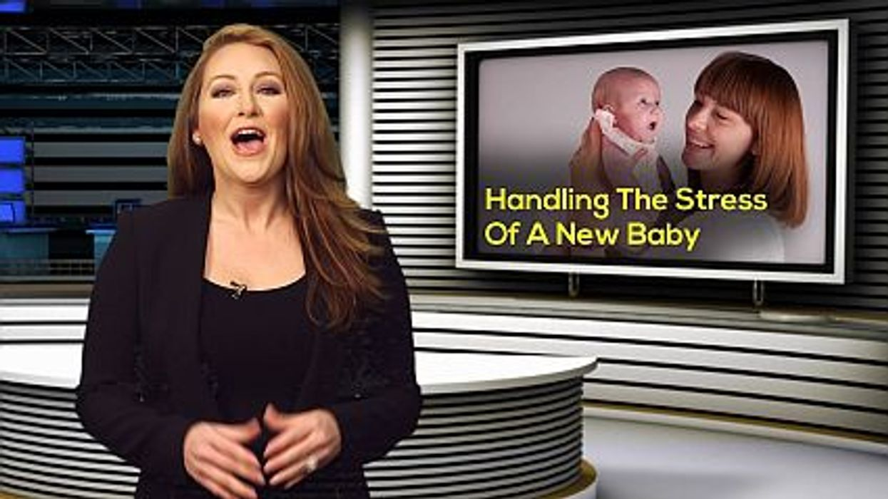 Handling The Stress Of A New Baby