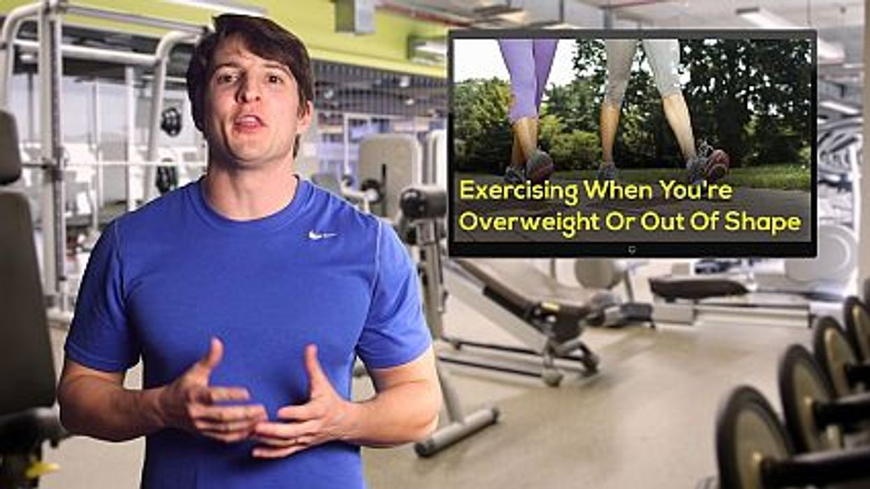 Exercising When You're Overweight Or Out Of Shape