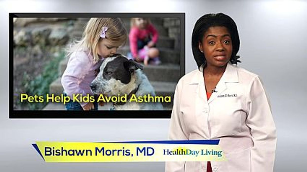 Can Having A Pet Help Prevent Asthma In Kids?
