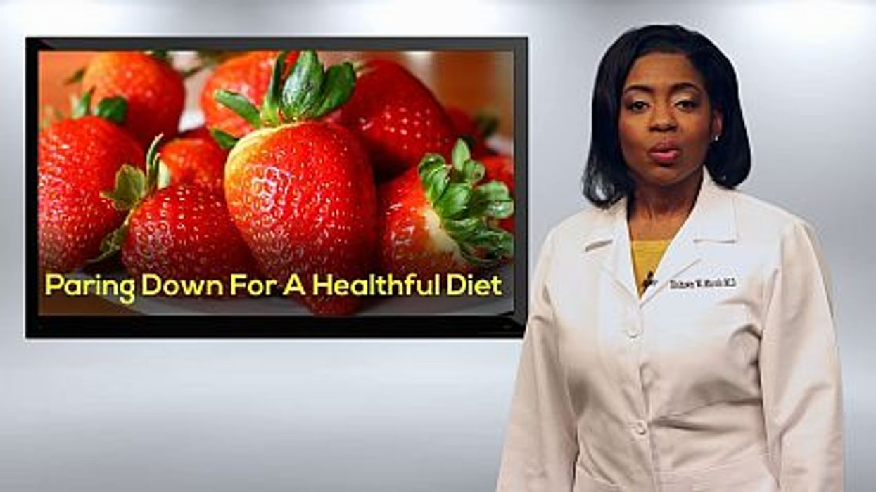 Paring Down For a Healthful Diet